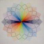 Fiore arcobaleno  opera n° 40