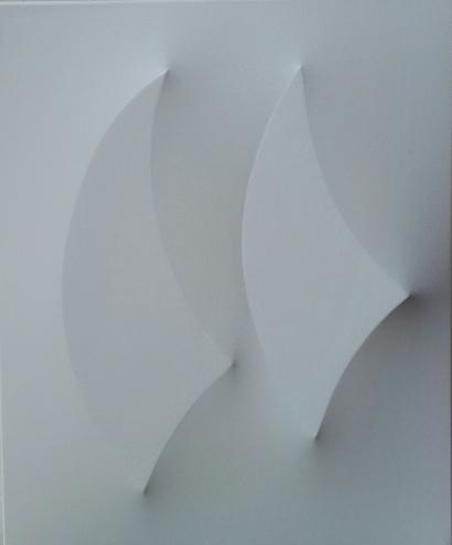 Velein competizione acrilico su tela estroflessa 55 x 45